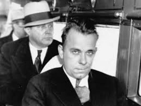 Famous bank robber, criminal, John Dillinger