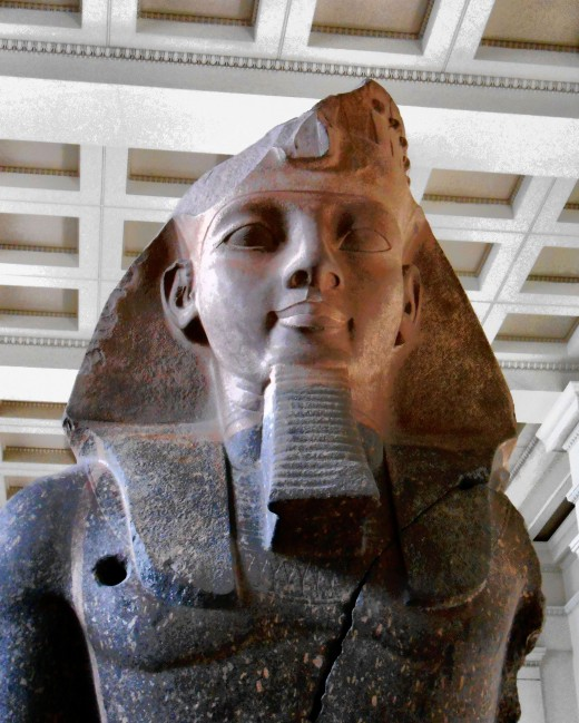 Ramesses II substantially expanded the territory Egypt controlled during his reign.