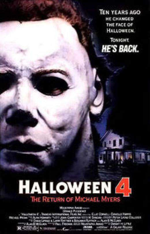 """""""Halloween 4"""" poster (1988)"""