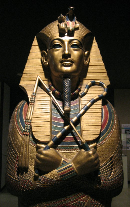 """Tutankhamen is more commonly known by his modern nickname, """"King Tut."""""""