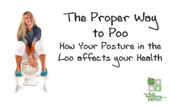 Relax for a healthy pooping experience