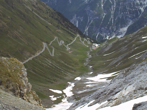 This is Stelvio Pass