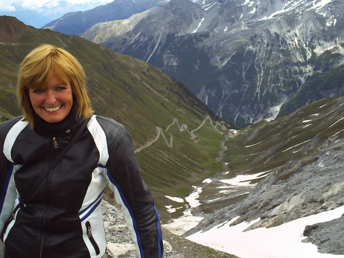 Again, Stelvio Pass is in the background