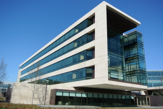 The Bill and Melinda Gates Foundation headquarters are located in Seattle, Washington.