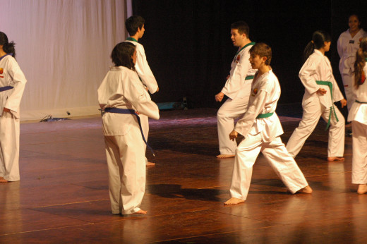Tae kwon do is one of the most widely available styles of martial arts class today.