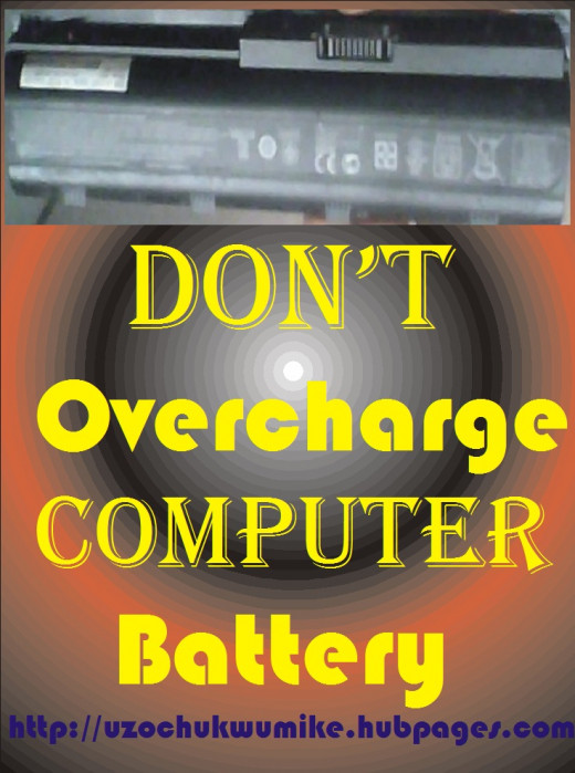 Overcharging laptop battery  spoils the battery of the device. So, avoid it.