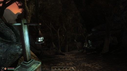 The Dark Forest is an interesting place where overabundant magic kills the ground, the trees, and even your framerate.