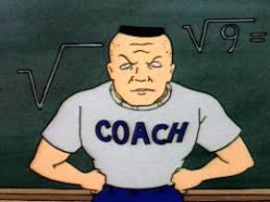 "Coach on the now-cancelled ""Bevis and Butthead"" series"