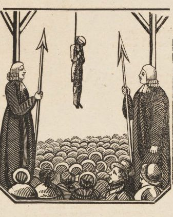 The Execution of William Marchant