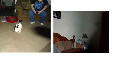 Here are 2 pictures of what we believe to be shadow figures. In both cases the way the pictures were taken, the placement of the flash and the lack of objects that could have created such shadows were debunked. There is no explanation for the shadow.