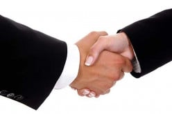 Do you think handshakes are more a thing of the past and dying out?
