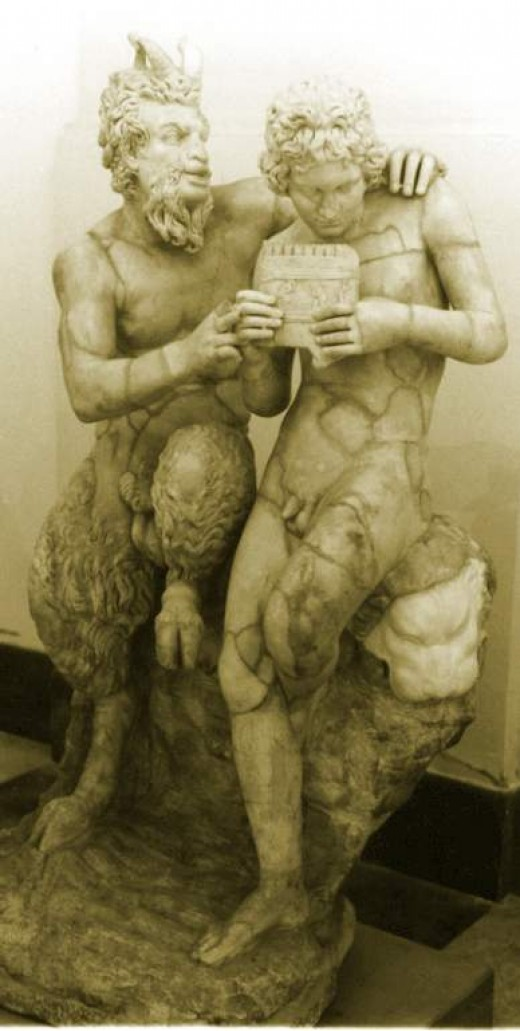 """Pan and Daphnis""."