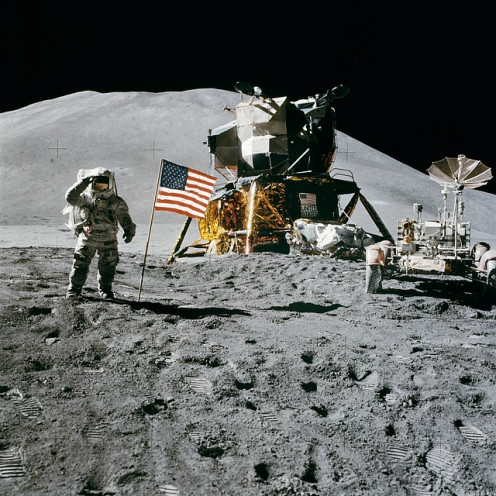 Apollo 15 Moon Landing with James Irwin