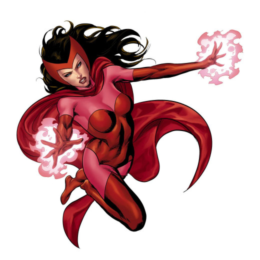 """Wait, the Scarlet Witch? As in Magneto's daughter Scarlet Witch."""