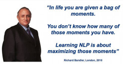 Training NLP: The Neuro Linguistic Programming