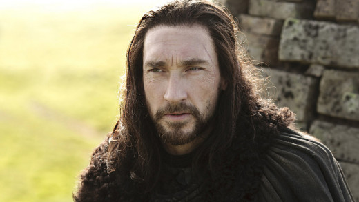 Benjen Stark. Not Coldhands.