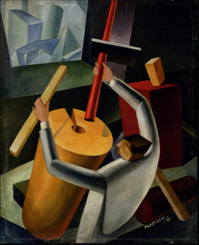 ca. 1925; Ivo Pannaggi