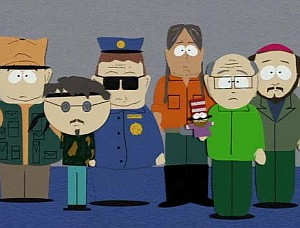 The mystery of Cartmans's dad's identity was the big mystery i this episode. Mrs. Cartman made this one difficult case to solve.