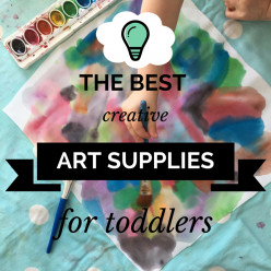 The Best Creative Art Supplies for Toddlers