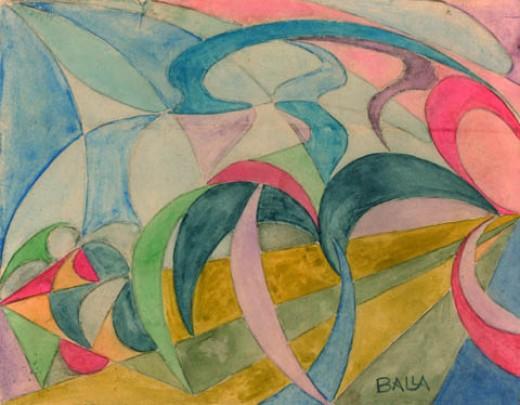 ca. 1918; Giacomo Balla