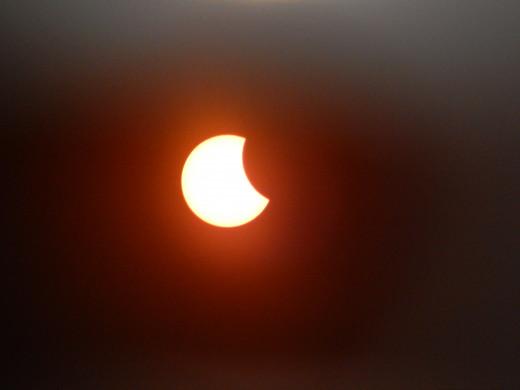 08:46 Solar eclipse, 2015.