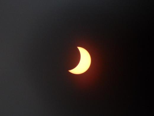 10:00 Solar eclipse, 2015.