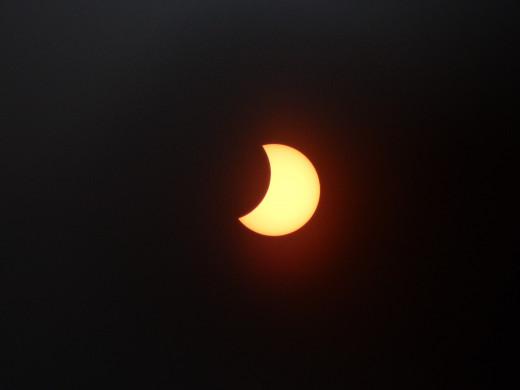 10:11 Solar eclipse, 2015.