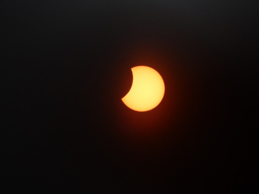 10:23 Solar eclipse, 2015.
