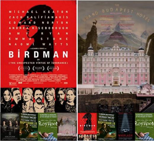 Oscar vs BAFTA 2015 - Best Original Screenplay