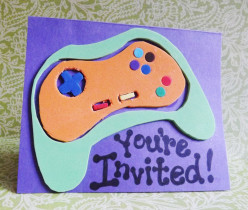 Invitations for Gaming Party