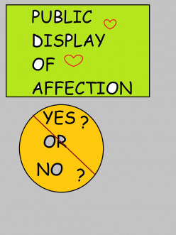Public display of Affections - Accepted or not?