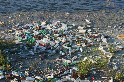 We can no longer turn a blind eye to the build up of plastic pollution.