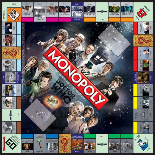 Monopoly Doctor Who edition