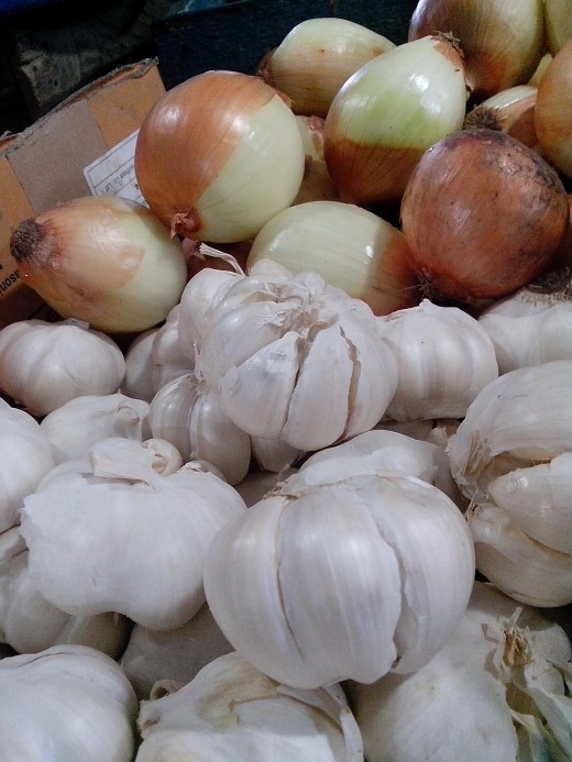 Photo Source: Ireno A. Alcala Garlic and Onion