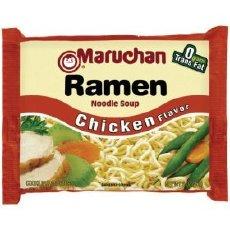 Ramen Noodles - Cheap, but little nutritional value.