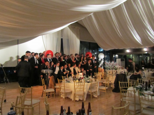 Higher-end venues for a company's holiday party will need to be booked farther in advance.