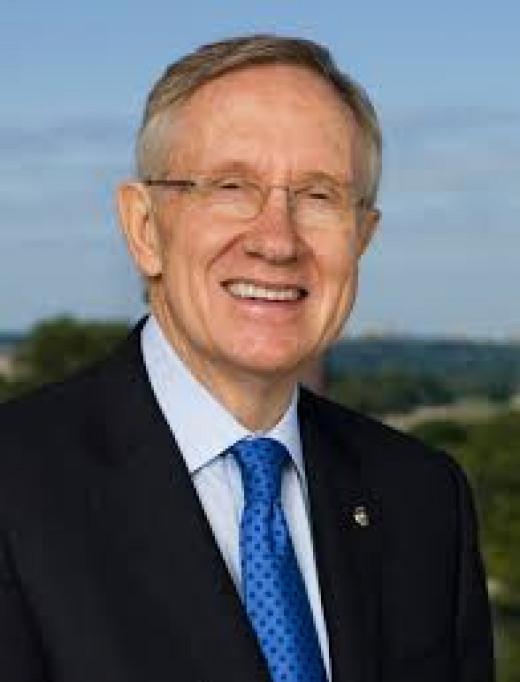 Majority Leader Harry Reid