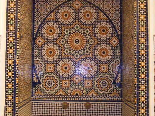 Tile patterns, interior