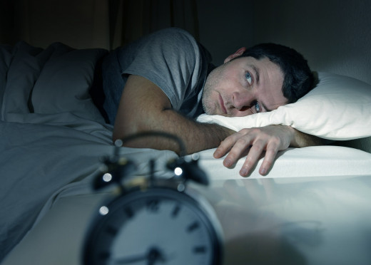 Trying to get to sleep can compound sleep problems