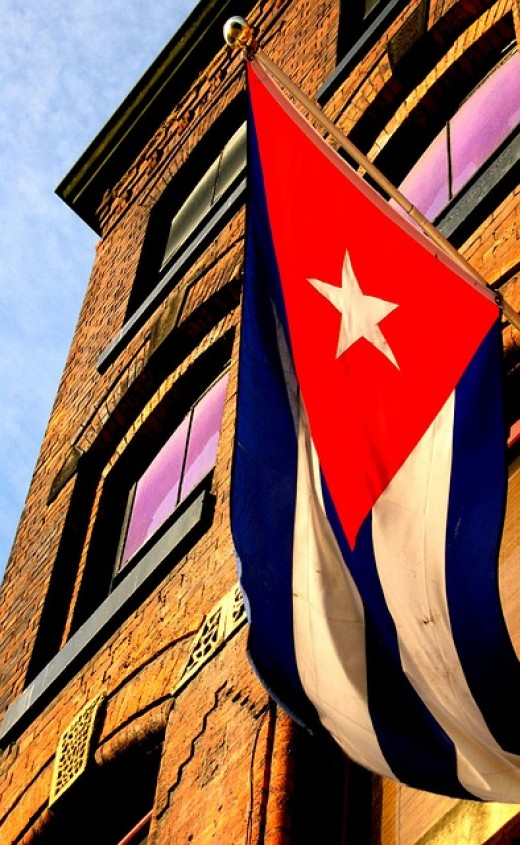 Historically, The Keys, and particularly Key West have strong connections with nearby Cuba, originally through trade links.  After the revolution in Cuba, many anti-Communist Cubans came to settle in the Key West area.