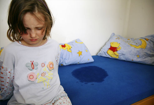 Sometimes, all that is needed is reassurance that no one is to blame for bed-wetting and that most children outgrow it.