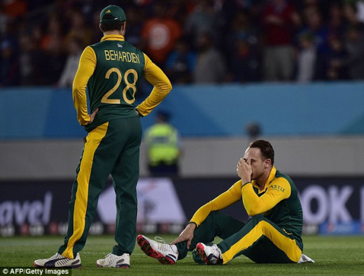 South Africa Lost in Semis Again