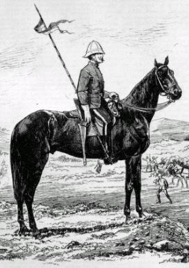 North West Mounted Police lancer