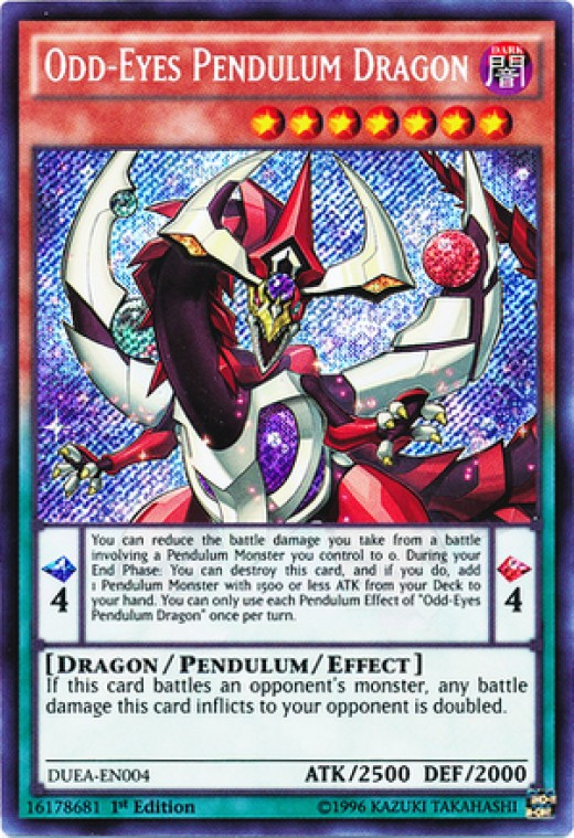 This, ladies and gentleman, is a Pendulum Monster.  This is what immortality looks like.