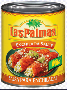 Las Palmas' red, mild enchilada sauce was the only brand my mom ever used in her enchiladas and chilequiles.