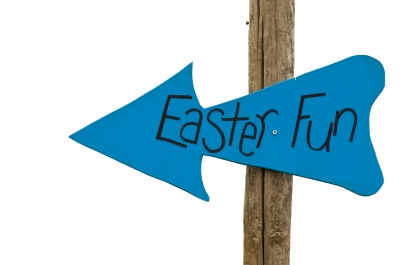 Easter time sign