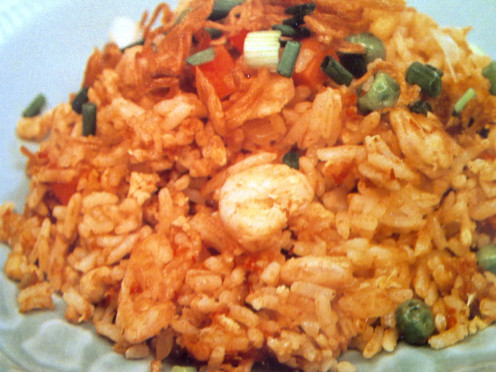 Sambal Fried Rice, my hubby's favorite