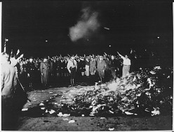 Book burning in Nazi Germany