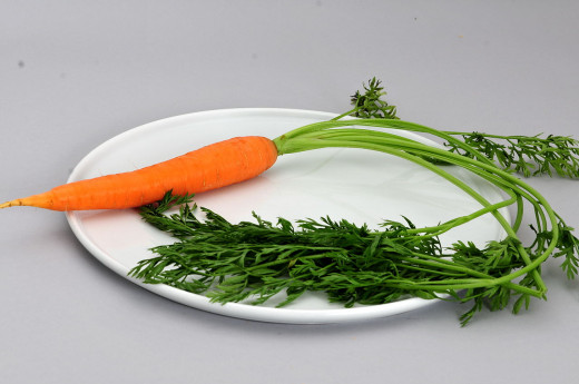 Did you know that one medium sized carrot contains approximately 2.6g of sugar?