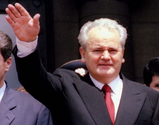 Mr. Slobodan Milosevic, the last president of the S.R Jugoslavia/ Yugoslavia; from which separation civil war following countries gained independence: Croatia, Bosnia and Herzegovina, Macedonia F.Y.R, and Slovenia.